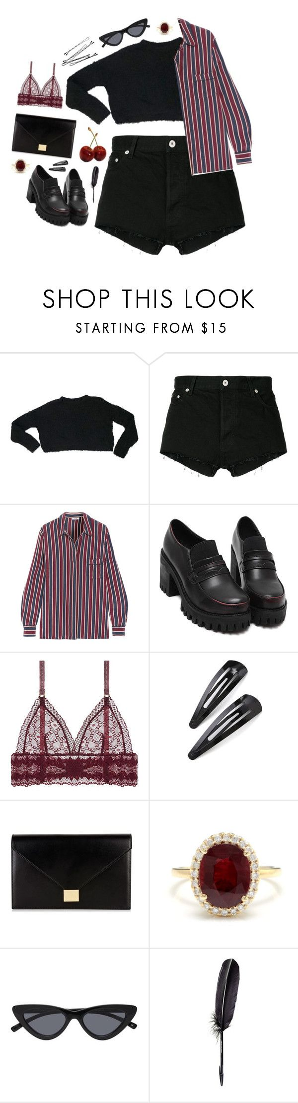 """""""Married"""" by mode-222 ❤ liked on Polyvore featuring ASOS, Heron Preston, Ganni, STELLA McCARTNEY, Adia Kibur, Victoria Beckham, Other and Maison Margiela"""