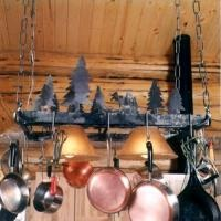 Johnson Creek Pot Rack , Deer Kitchen and Dining, Deer Decor, Shop by Theme at Rocky Mountain Cabin Decor