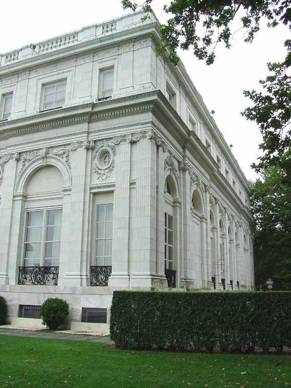 New York Architecture Images- Newport Mansions