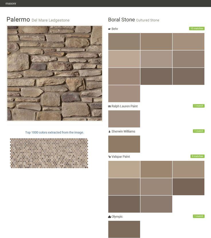 17 best cultured stone by boral del mare ledgestone for Gray stone paint color