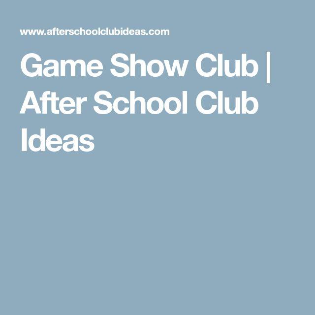 after school program game ideas