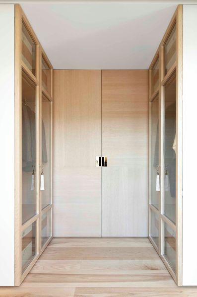 Walk in Closet | Ash flooring from Ebony & Co.