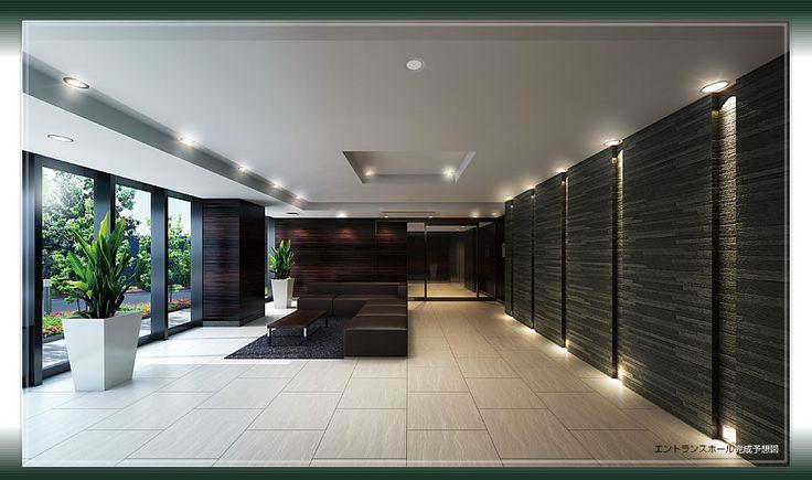 マンション エントランス - Google 検索 | Hall lifts