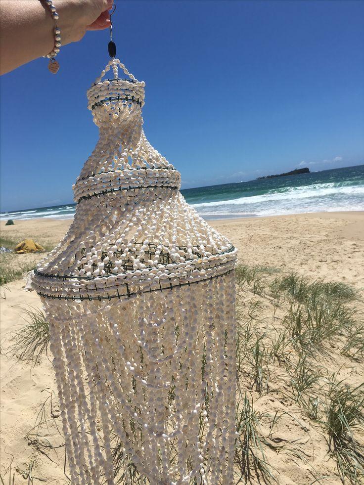 Sea Shell Chandiler  by Ocean Nomad Australia shop with us www.oceannomadaustralia.com.au