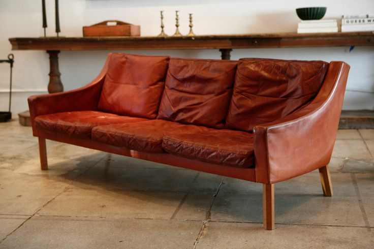 borge mogensen: Chairs Sofas, Denmark 1960, Danish Sofas, Leather Couch, Leather Sofas, Lounge Furniture