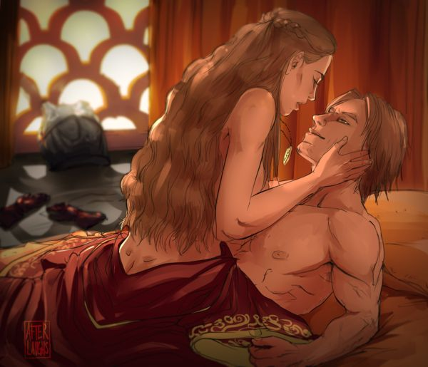 Commission - Jaime and Cersei by Afterlaughs.deviantart.com on @deviantART
