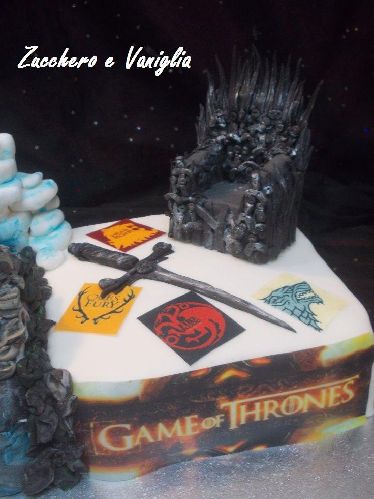 torta trono di spade