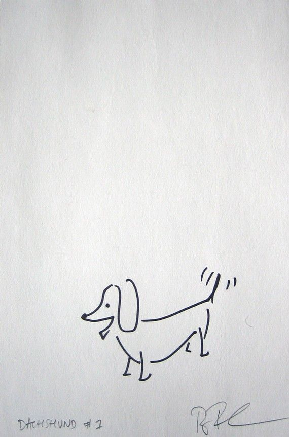 Line Drawing Dachshund : Best dachshund images on pinterest doggies