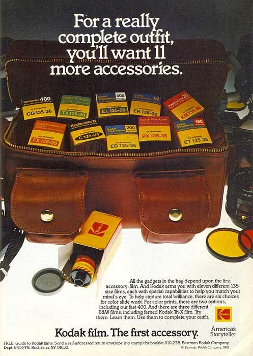 Kodak and fashion