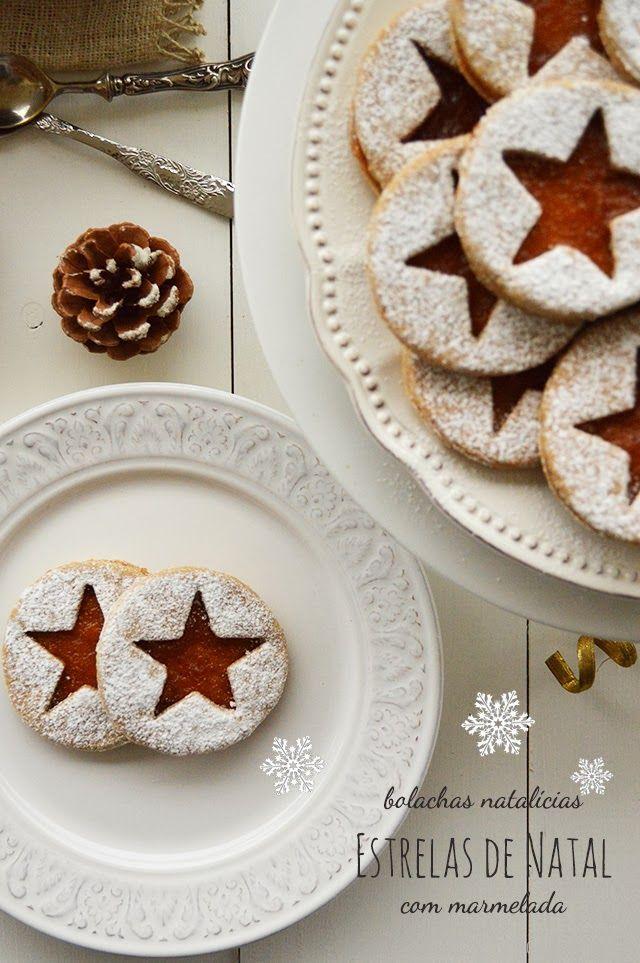 Bocadinhos de Açúcar: Estrelas de Natal