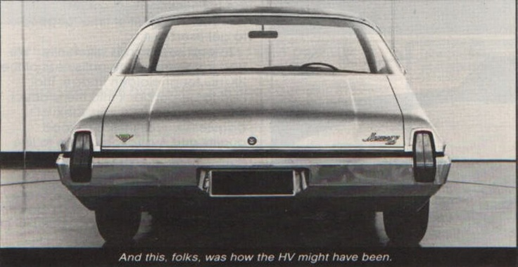 Hv Holden Monaro Prototype Vintage Get Arounds