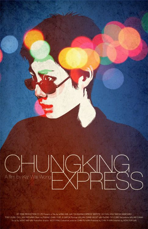Chungking Express - movie poster - Wong Kar-wai - Follow the podcast https://www.facebook.com/ScreenWolf and https://twitter.com/screen_wolf - great film