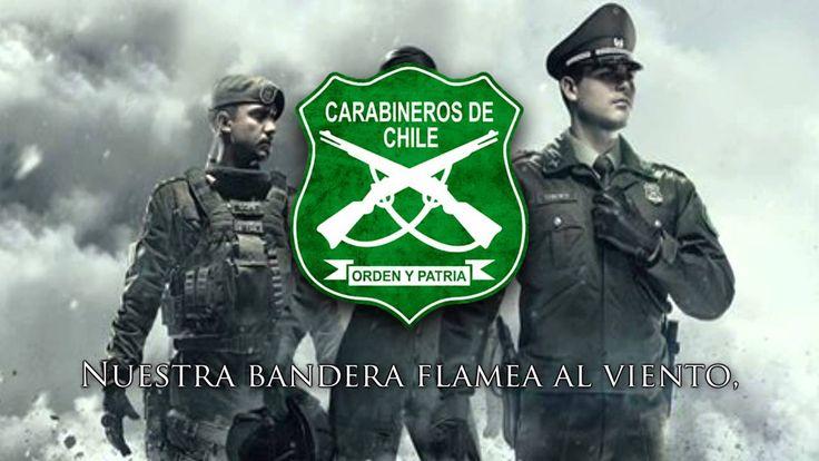 """Himno de Carabineros de Chile - """"Orden y Patria"""" (Chilean Police Hymn)"""
