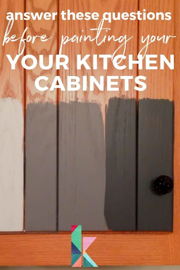 Should I Paint My Kitchen Cabinets Designertrapped Com Stained Kitchen Cabinets Buy Cabinets Diy Home Improvement
