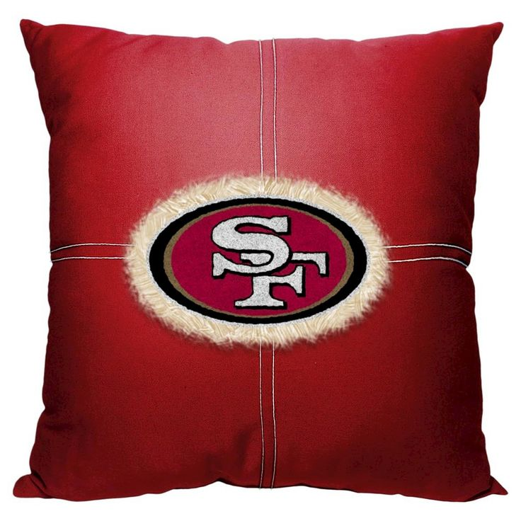 Decorative Pillow NFL 49ERS Multi-colored