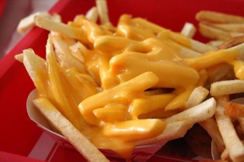 Cheesy chips!