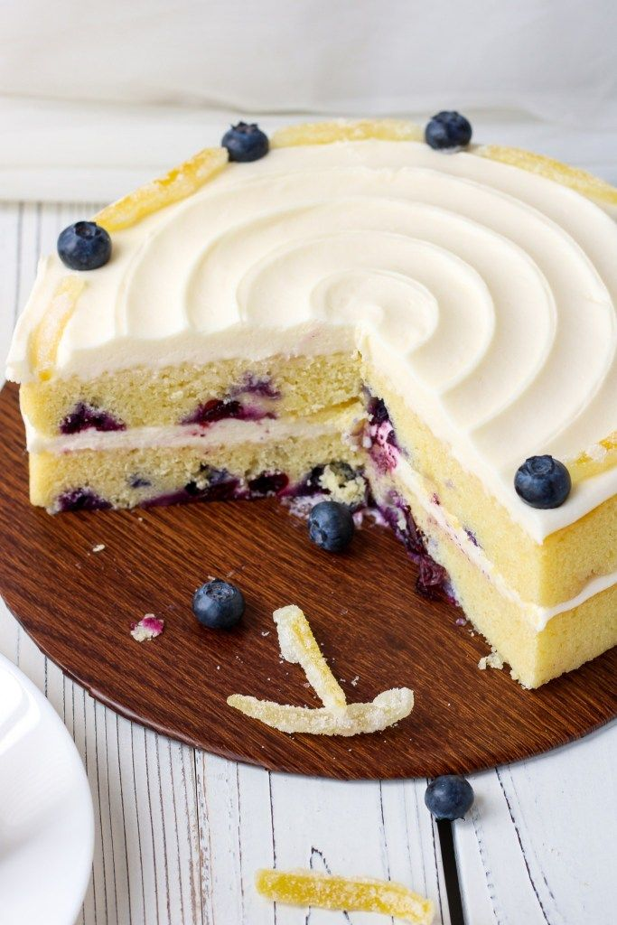 Lemon Blueberry Cake With Cream Cheese Frosting Bakes And Blunders Recipe Cake Blueberry Lemon Cake Recipe Blueberry Cake