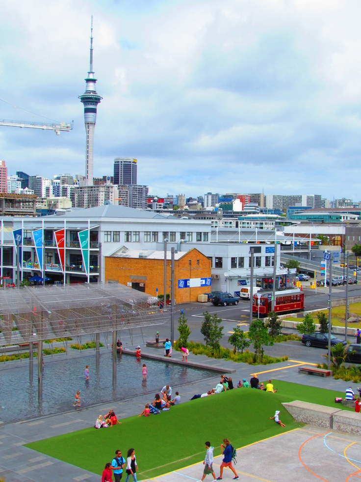Silo Park - down on the waterfront - Auckland, NZ