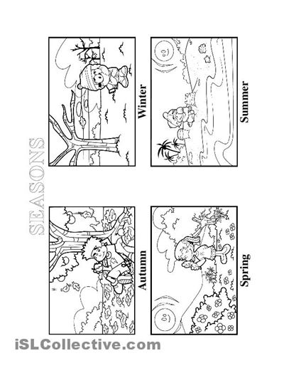 10+ ideas about Seasons Worksheets on Pinterest | Kindergarten ...