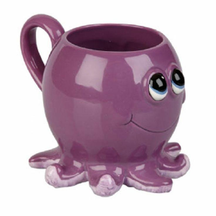 Octopus Novelty Ceramic Mug