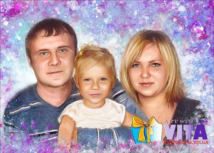 Портрет в стиле гранж   Семейная жизнь никогда не бывает сплошным праздником. Поддержите своего любимого человека в трудную минуту, порадовав его таким шикарным подарком🎀 Наш сайт http://gallerr.ru Заказать http://gallerr.ru/fzakaza2 По вопросам пишите в личку