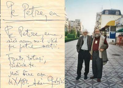 Petre Stoica, remember necesar: Adam Puslojic & Petre Stoica