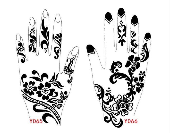 Temporary Tattoo Stencils Henna: 25 Best Henna Tattoo Outlines Images On Pinterest