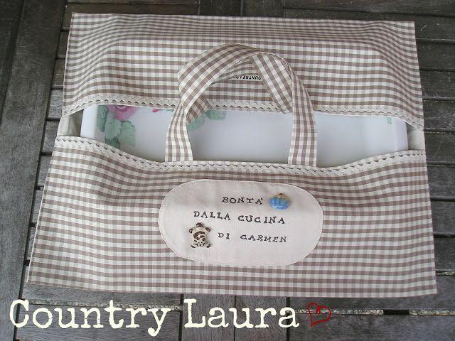 Country Laura: UN PORTATEGLIE... GATTOSO