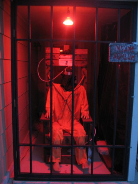 electric chair plans halloween. prop showcase: death chamber set up. with electric chair victim plans halloween