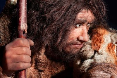 Neanderthal depiction (stock image). Neanderthals lived in the Middle Paleolithic, the middle period of the Old Stone Age. This period encompasses the time from roughly 200,000 to 40,000 before our times. Credit: © procy_ab / Fotolia