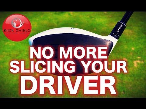NO MORE SLICING YOUR DRIVER! - YouTube