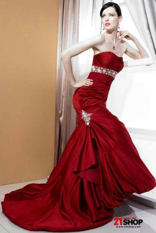 78  images about Dream wedding dress. Yes Red dress -) on ...