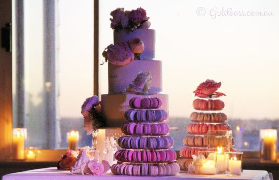 Sami and Pascal Wedding Cake at Acqua Viva in Nedlands