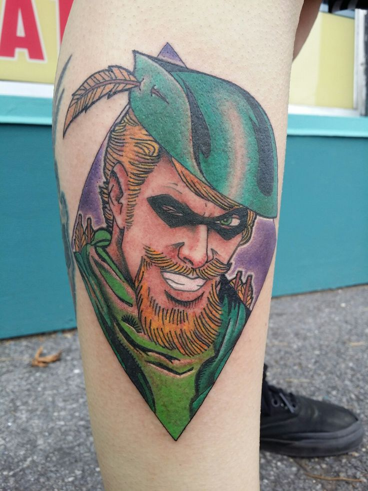 Oliver queen tattoo images galleries for Bratva arrow tattoo