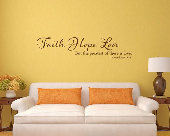 21 best Faith Hope Love theme images on Pinterest | Faith hope love ...