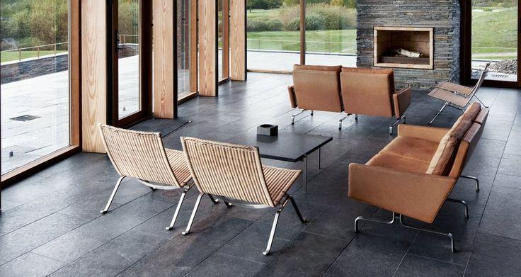 stardust modern design: Fritz Hansen PK22 Modern Lounge Chair by Poul Kjaerholm