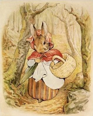 Beatrix Potter illustration.