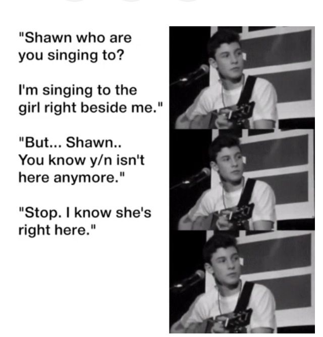 Awww this is probably one of my fav shawn imagines