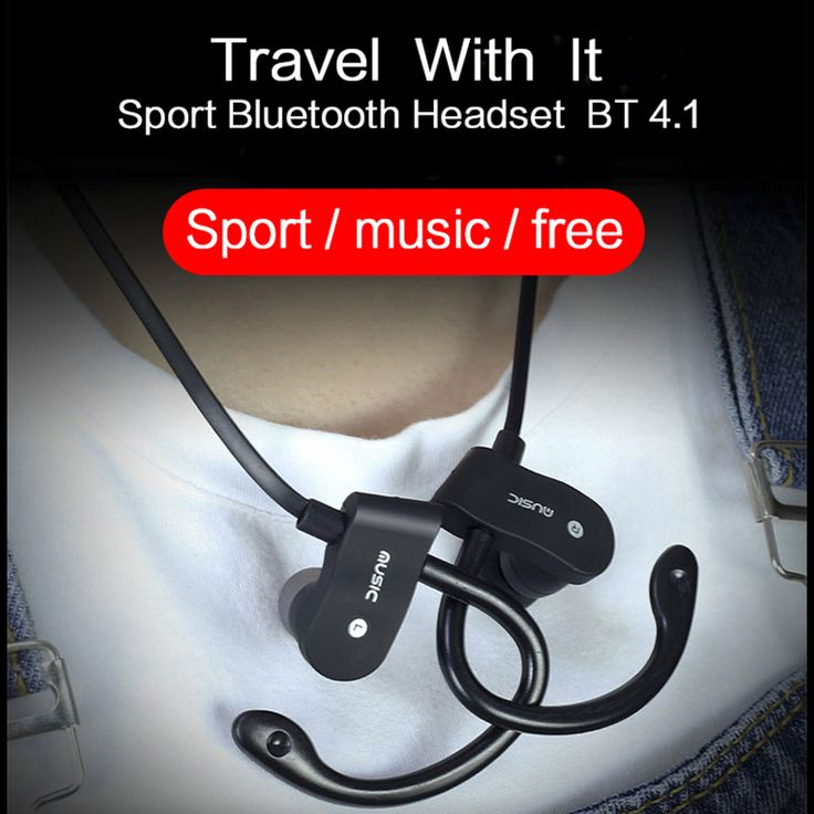 Sport Running Bluetooth Earphone For ZTE Blade S6 Lite Earbuds Headsets With Microphone Wireless Earphones