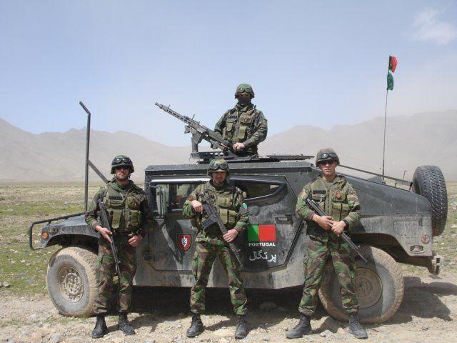 "Modern Portuguese Army ""Comandos"" in Afghanistan"