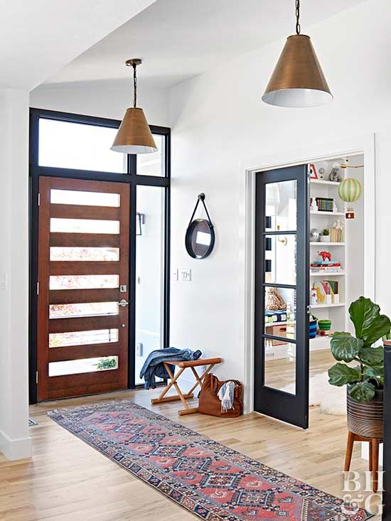 Get inspired by these incredible before-and-afters of entryways.