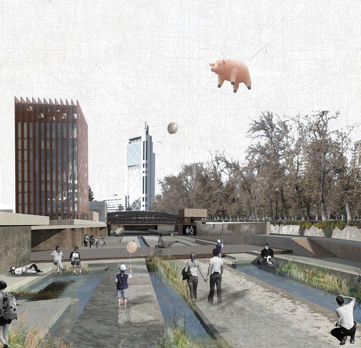 'Devolver el río a la ciudad', una propuesta para el río Mapocho de Santiago