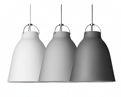 Love love LOVE these Caravaggio Matt pendant lamps by Lightyears