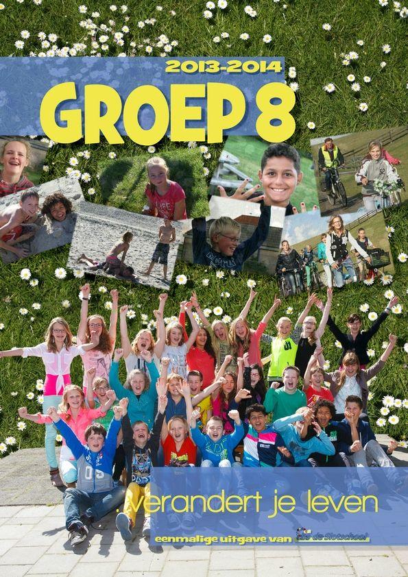 Afscheid groep 8: maak samen een tijdschrift
