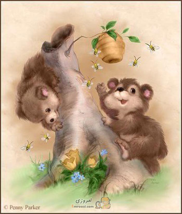 Открытки с медвежатами и котятами, старые открытки открытка
