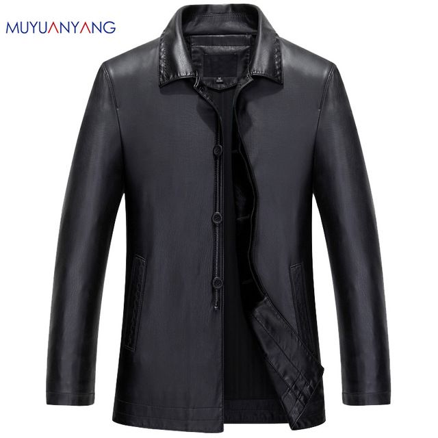 Special offer Men's Leather Jackets Spring and Autumn Black Leather Jacket For Men Faux Leather Coats Loose Big Size PU Jackets Overcoats just only $39.98 with free shipping worldwide  #jacketscoatsformen Plese click on picture to see our special price for you