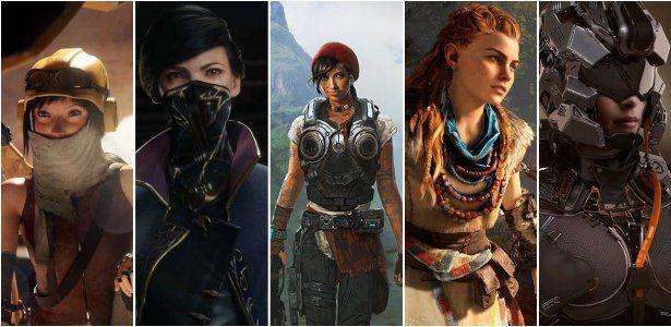 Lacrando geral: 5 jogos incríveis com mulheres como protagonistas