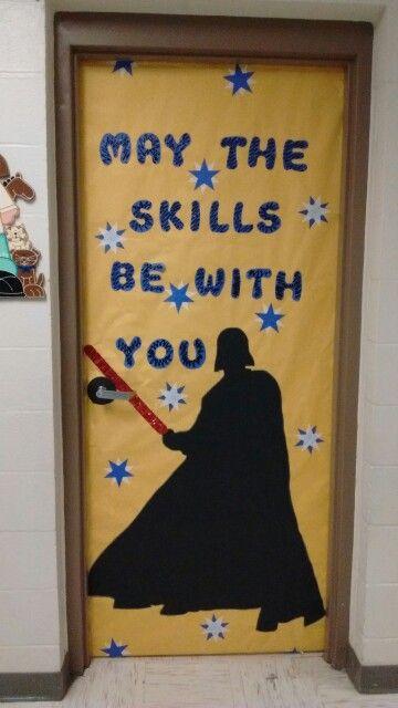 Darth Vader Classroom Door