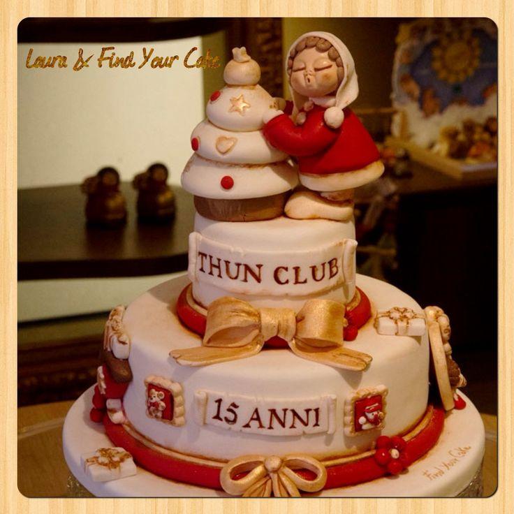 Torta per il 15° anniversario del THUN Club