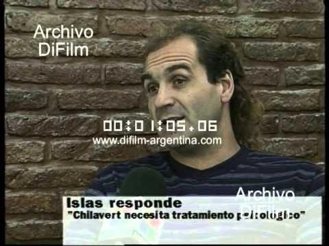 DiFilm - Luis Islas por Chilavert dice es un enfermo necesita ayuda (1998) - YouTube